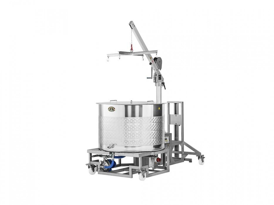 braumeister 500 litru pohled