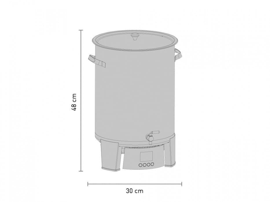 speidels braumeister 10 litru rozmery
