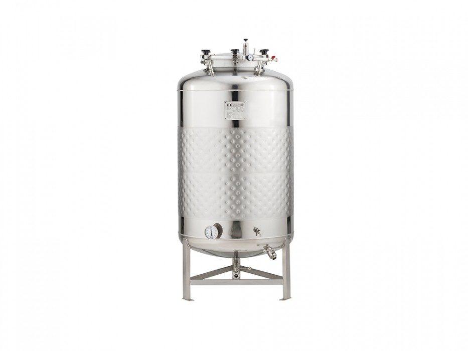 cylindricky-nerezovy-fermentacni-tank-tlakovy-625L