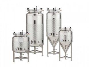 Nerezové fermentační tanky - tlakové 1.2 bar