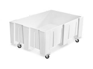 Plastový 200 litrový univerzální zásobník na odpadní mláto