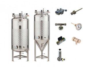 Fermentační nádrže komponenty
