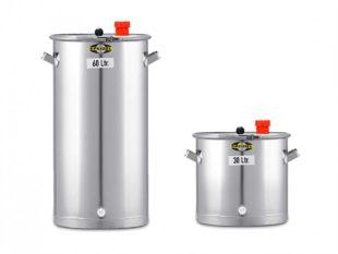 Nerezové fermentační sudy - netlakové